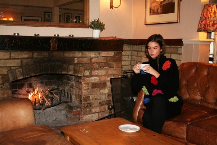 Cozy up at the East End Arms