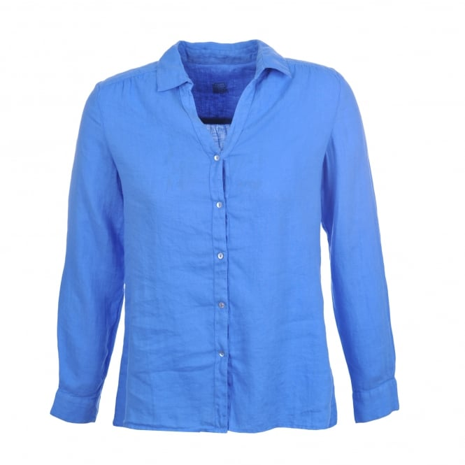 120% Lino Shirt in Bluebell