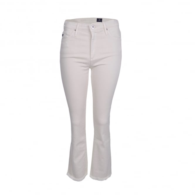 AG Jeans Jodi Crop in Ivory