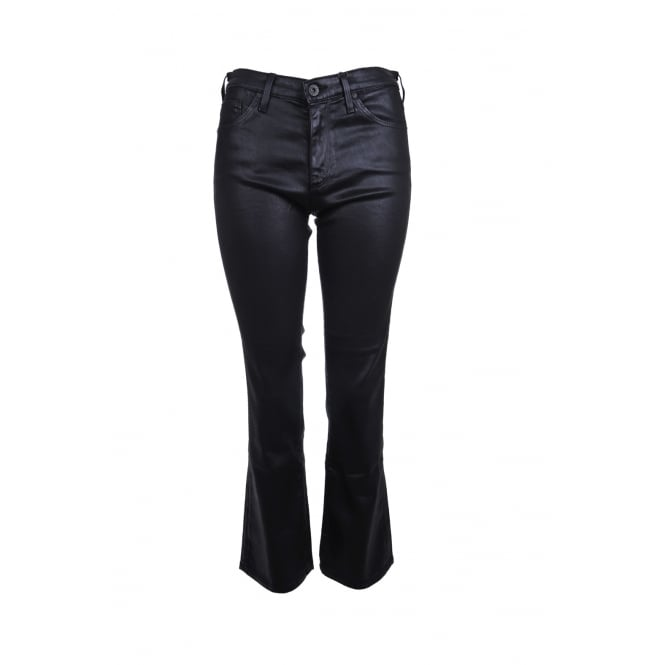 AG Jeans Leatherette Jeans in Black