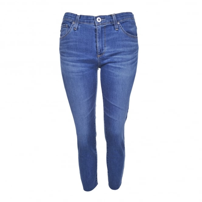 AG Jeans The Prima Crop in Indigo Viking
