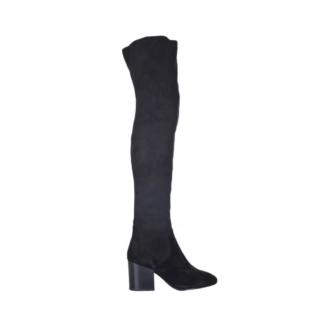 Ash Elisa-Baby Silk Over the Knee Boot