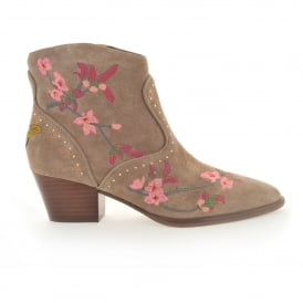 Ash Heidi-Baby Embroidered Boot