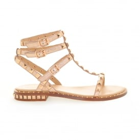 Poison Gold Studded Sandal