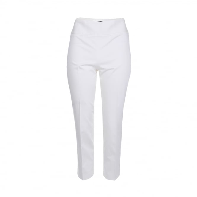 Boutique Moschino Cotton Crop Pant in White