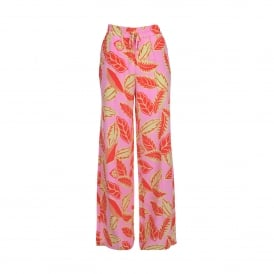 Boutique Moschino Floral Print Palazzo Pant