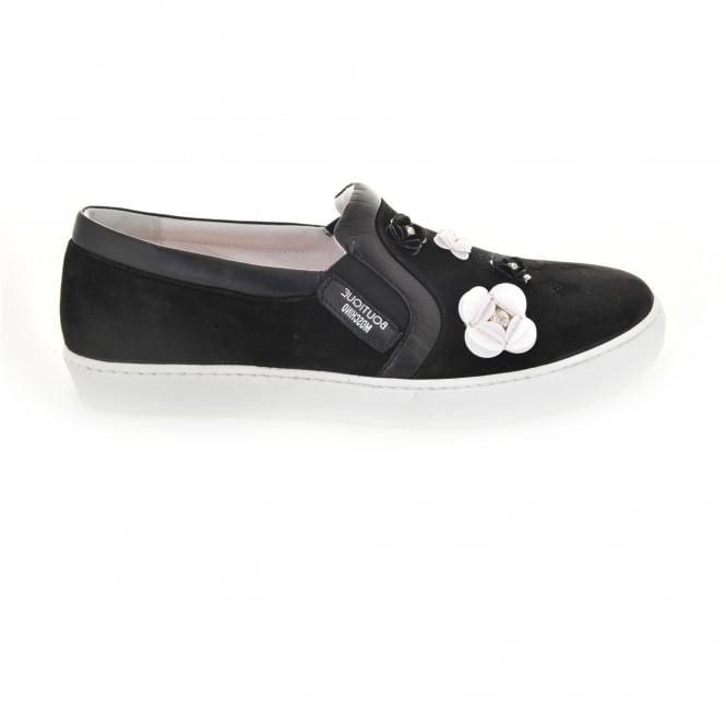 Boutique Moschino Flower Embellished Sneaker