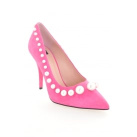 Boutique Moschino Fuschia High Pump