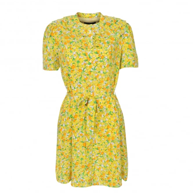 Boutique Moschino Lemon & Orange Print Dress