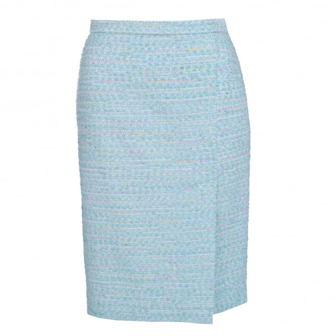 Boutique Moschino Pale Blue Pencil Skirt