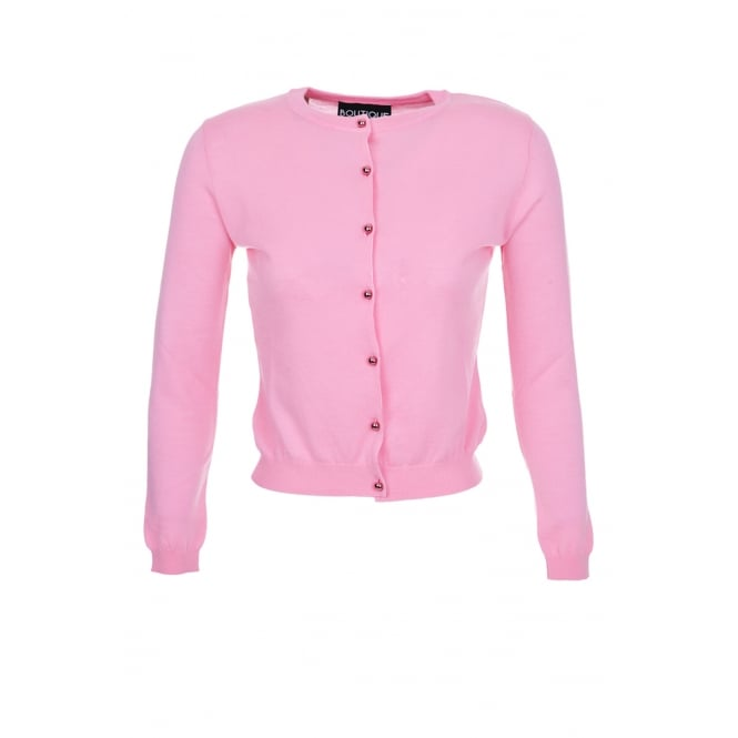Boutique Moschino Pink Cardi