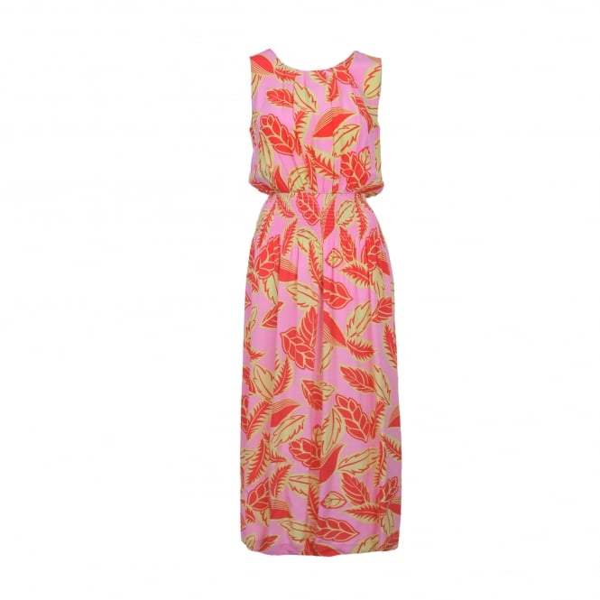 Boutique Moschino Pink Floral Maxi Dress