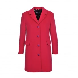 Pink Wool and Cashmere Coat