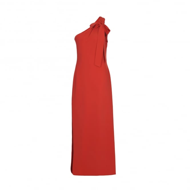 Boutique Moschino Red Maxi Dress