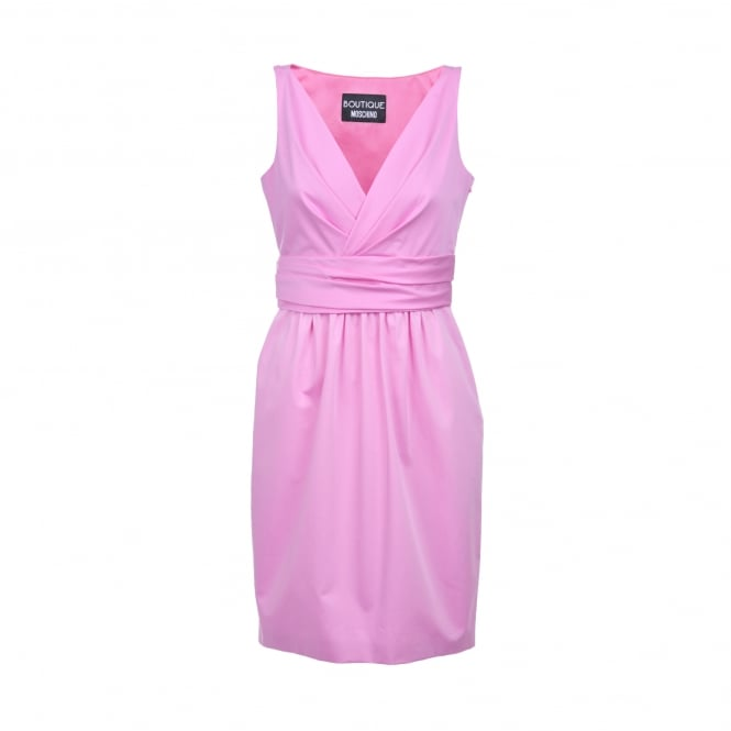 Boutique Moschino Short Pink Dress