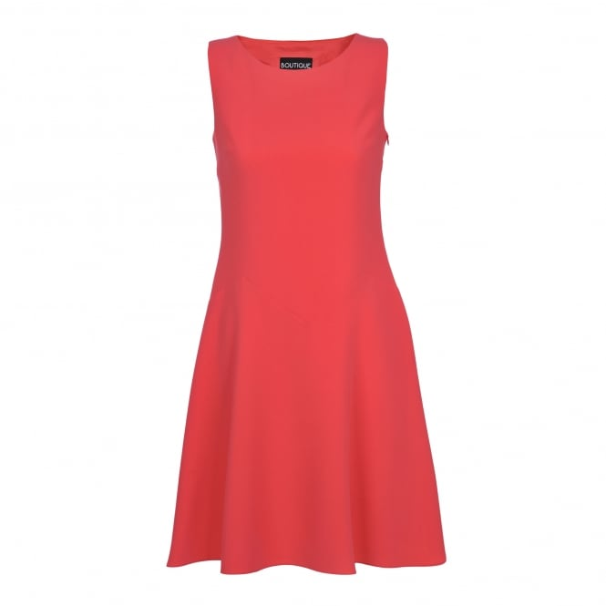 Boutique Moschino Sleevless Coral Dress