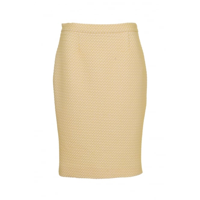 Boutique Moschino Yellow Skirt