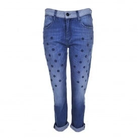 Starseed Charlotte Jeans in Tokyo Blue
