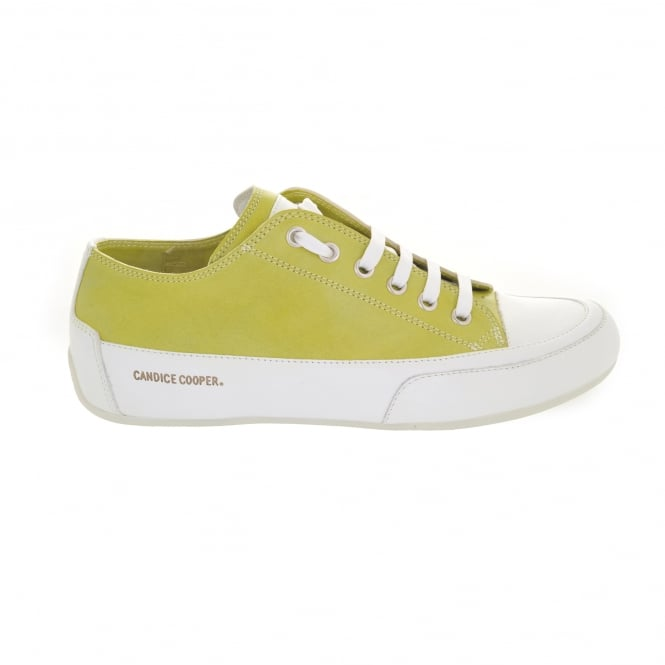 Candice Cooper Rock 01 Sneaker in Lime
