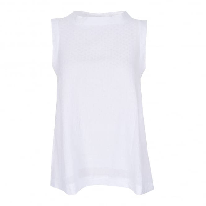 Cecilie Copenhagen Seeveless White Top