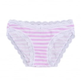 Candy Stripe Knicker Set