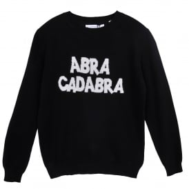 Abracadabra Cashmere Sweater in Black