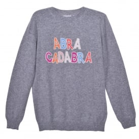 Abracadabra Cashmere Sweater in Grey