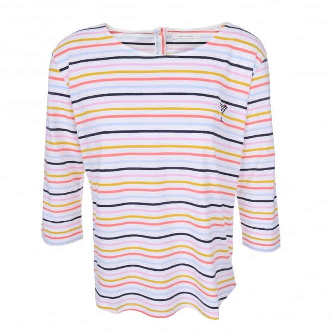 Chinti and Parker Breton Stripe Cocktail Tee