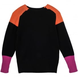 Colour Block Cashmere Sweater