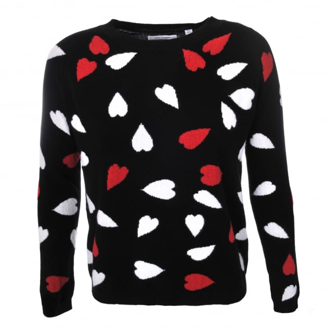 Chinti and Parker Confetti Heart Sweater