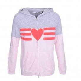 Love Heart Cashmere Hoodie