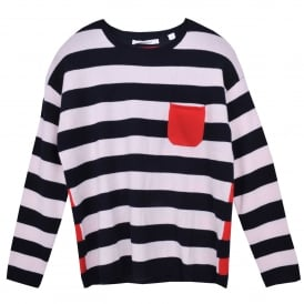 Multi Stripe Cashmere Sweater