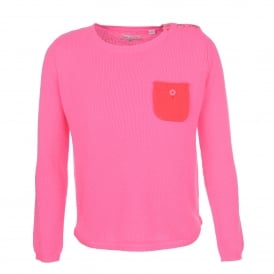 One Pocket sweater Pink /Coral