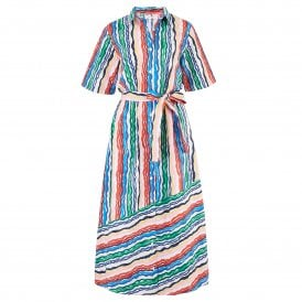 1aecdf745fe Rainbow Shirt Dress