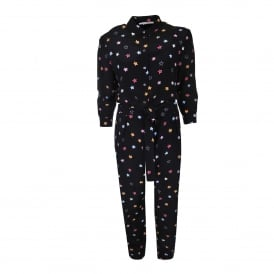 Silk Star Jumpsuit