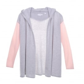 Slouchy A-Line Cashmere Cardi