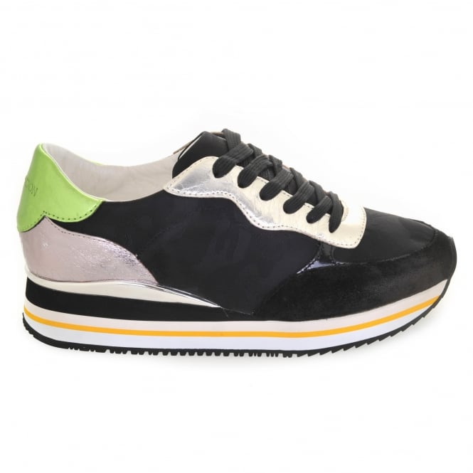 Crime London Dynamic Trainers in Black