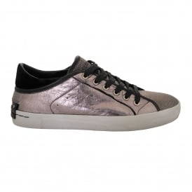 Faith Low Trainer in Metallic Mauve