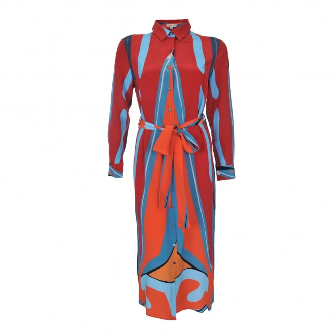 Dhela Spacebug Long Sleeve Dress