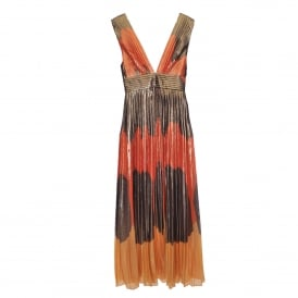 Tricolore Maxi Dress
