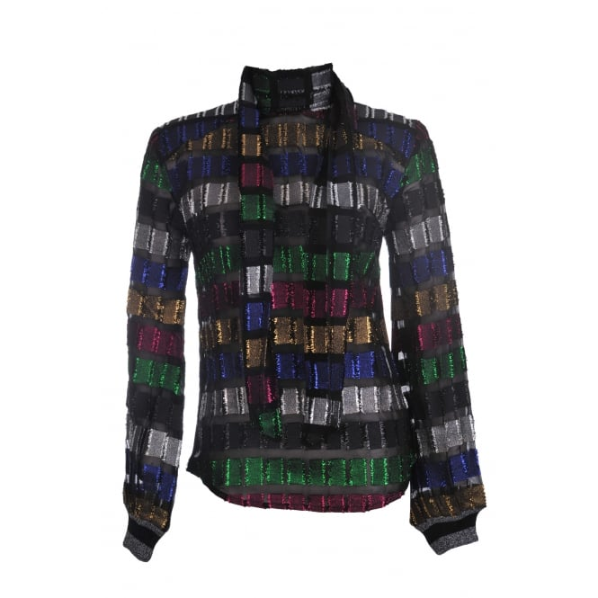 Dodo Bar Or Gaia Multi Coloured Shirt