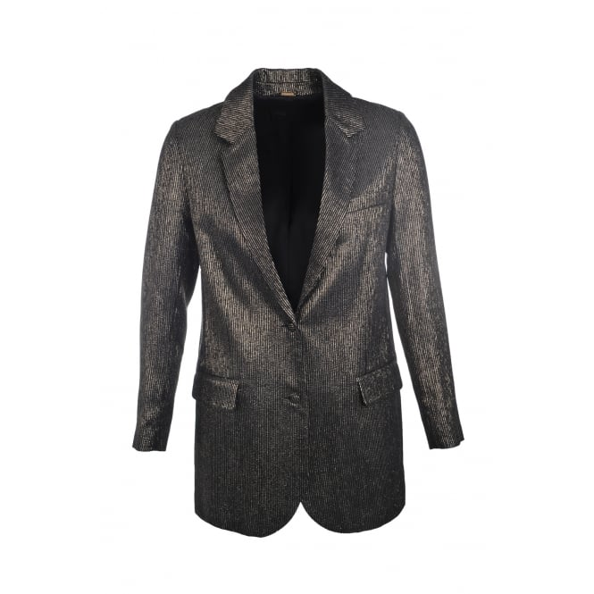 Dodo Bar Or Lindzy Jacket in Black & Gold