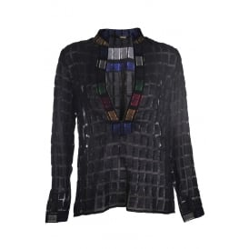 Dodo Bar Or Nina Shirt Black Multi