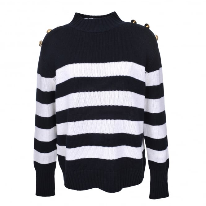 Donna IDA Cable Me Captain in Milk Hello Sailor Stripe