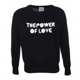 The Power of Love Sweater in Noir