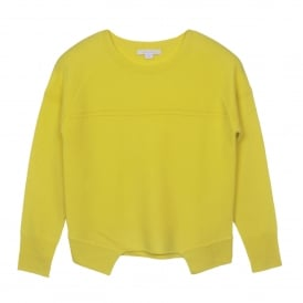 Cashmere Sweater in Lemon Sorbet