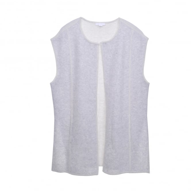 Duffy Gilet in Marble/Mist