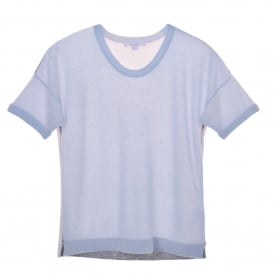 Short Sleeve Sweater Blue/Dawn/Grey