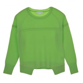 Sweater in Apple Green