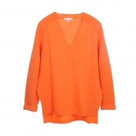 V-Neck Sweater in Krill